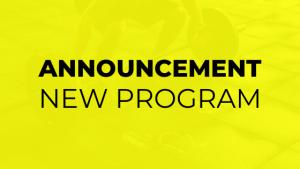 new program announcement for highlite fitness